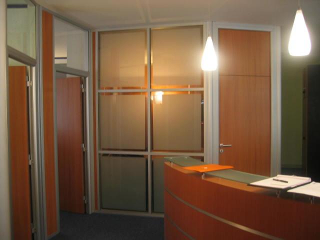 Aménagement de bureaux.