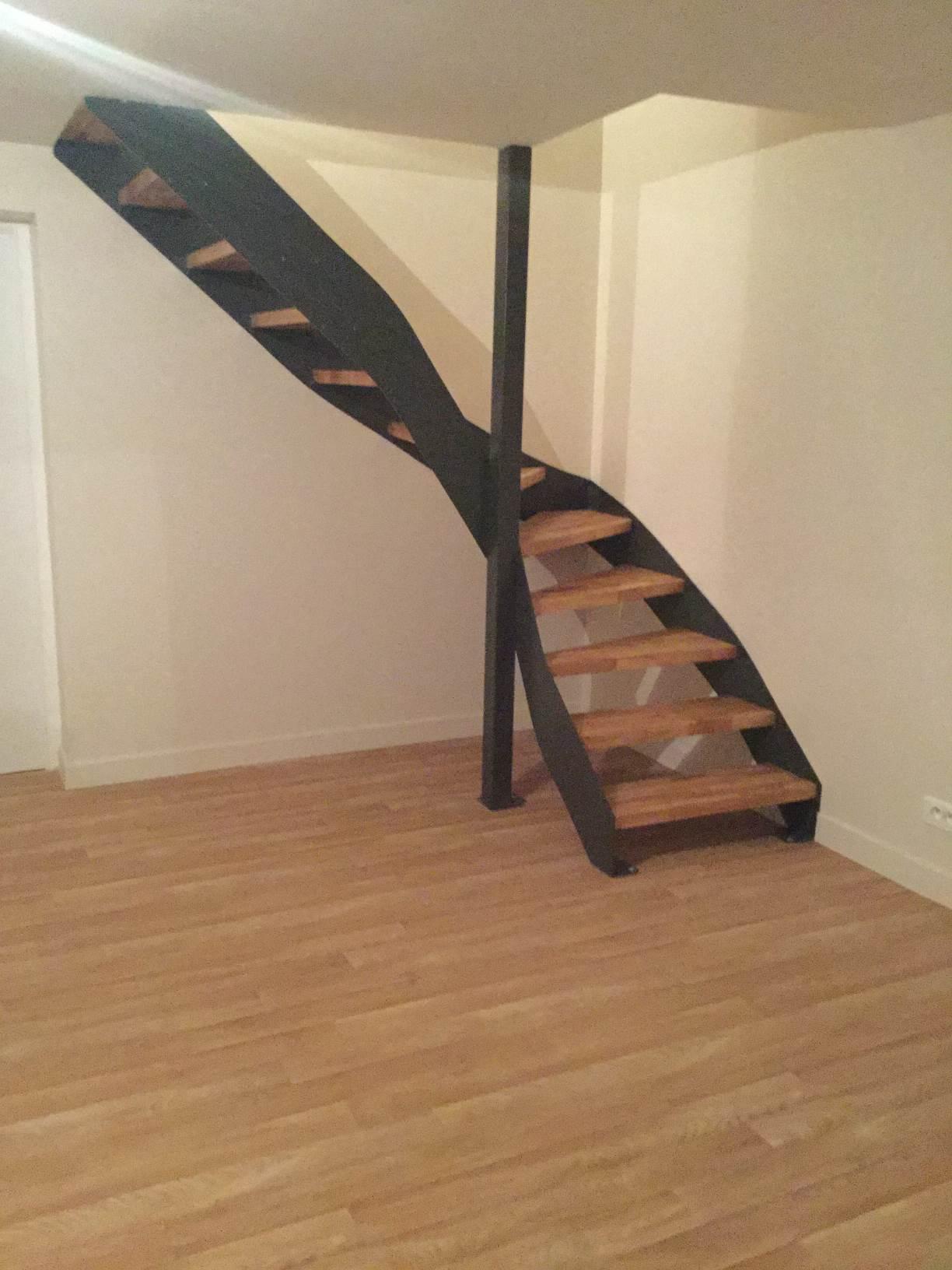 Création d'escalier sur mesure.