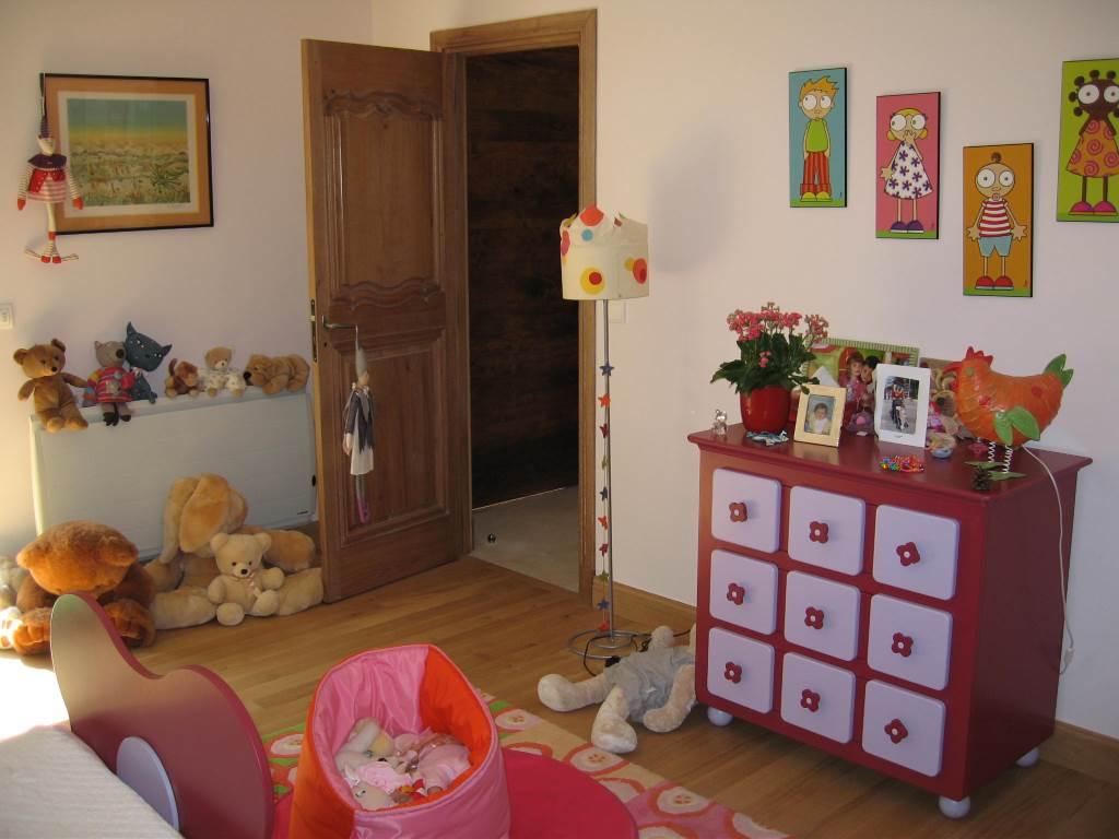Aménagement chambre de petite fille.