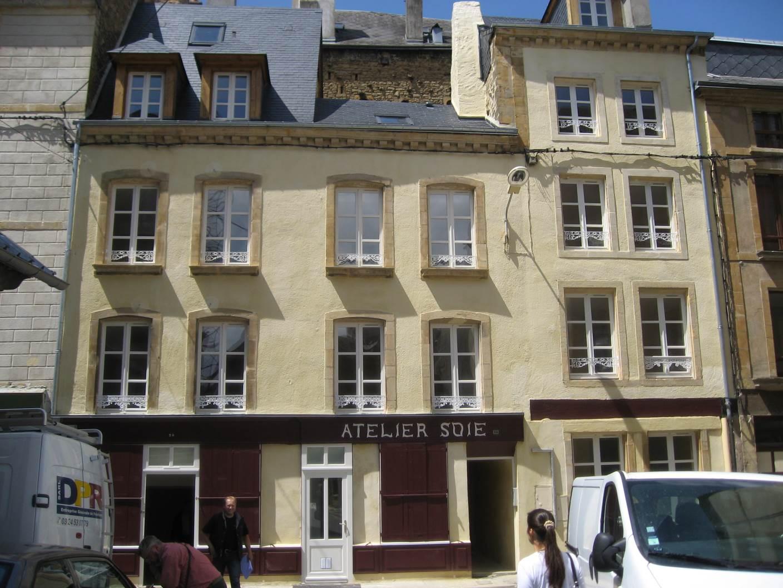 Réhabilitation de deux immeubles à Sedan.